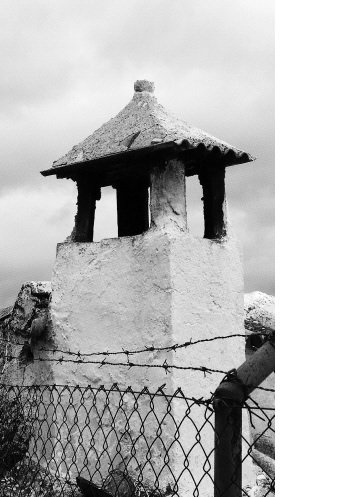 The original photo of the chimney in Alcala